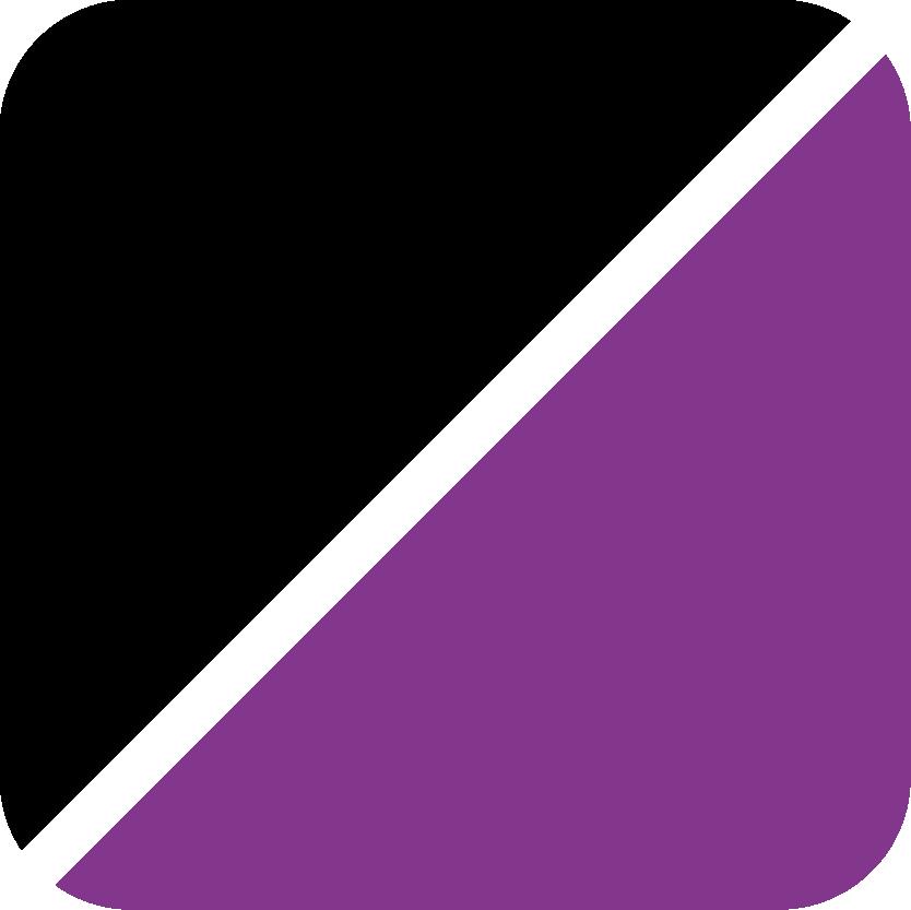 schwarz-lila