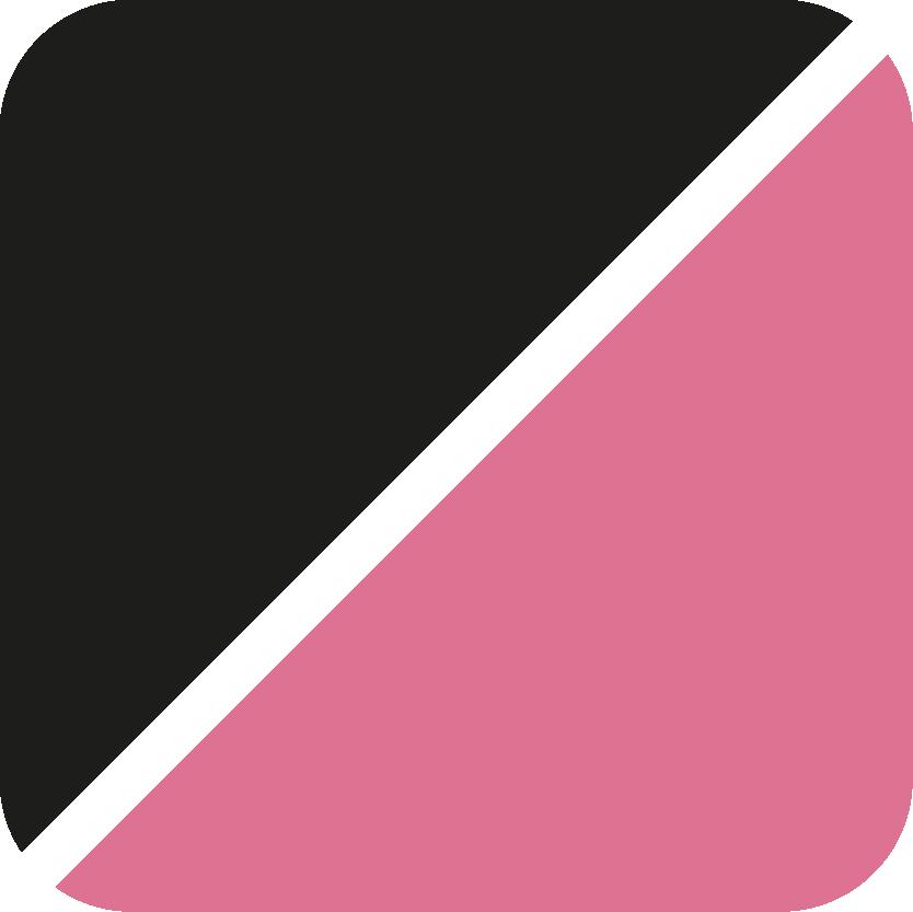 schwarz-pink