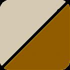 beige-braun