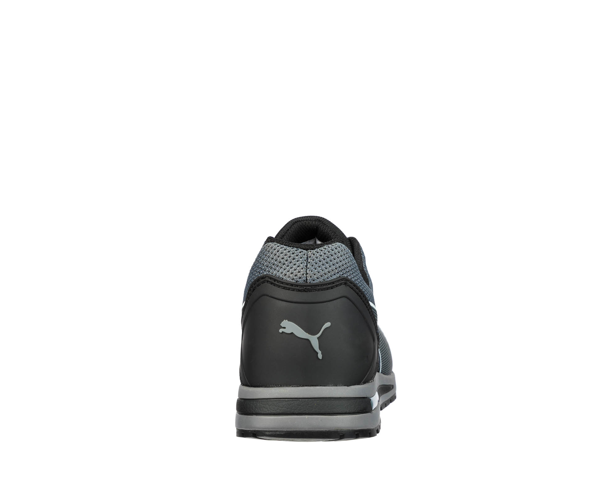 Puma Elevate Knit Black Low 643160 S1P ESD Sicherheitsschuhe 42 SchwarzGrau